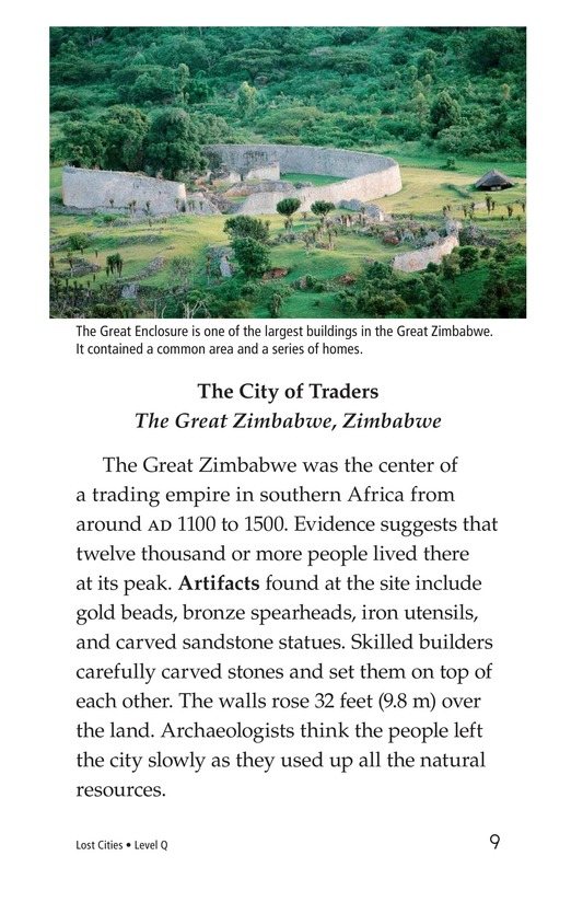 Book Preview For Lost Cities Page 9