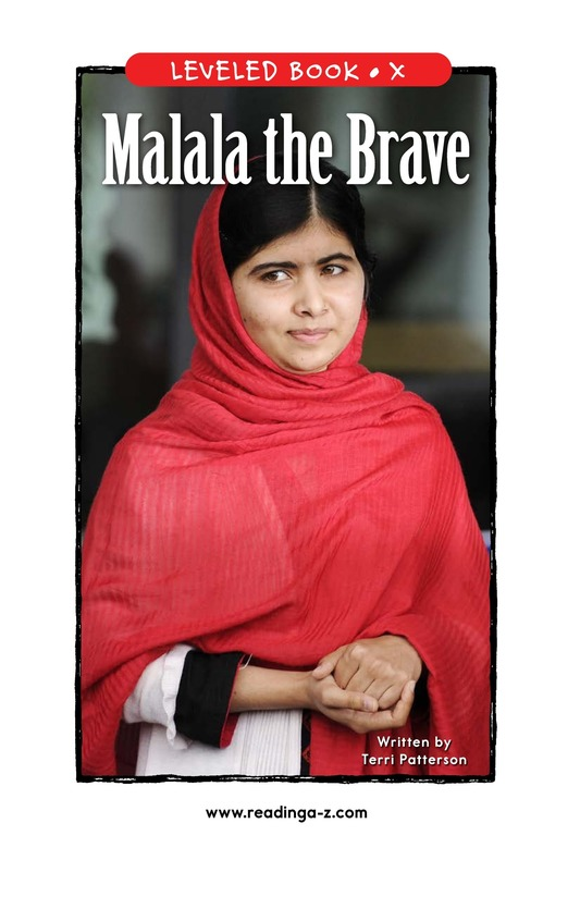 Book Preview For Malala the Brave Page 1