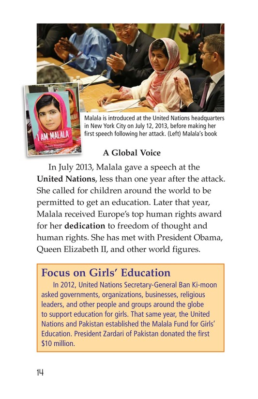 Book Preview For Malala the Brave Page 14