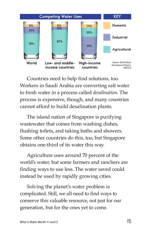 Book Preview For What Is Water Worth? Page 15