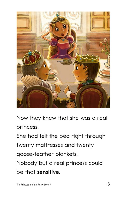 Book Preview For The Princess and the Pea Page 13