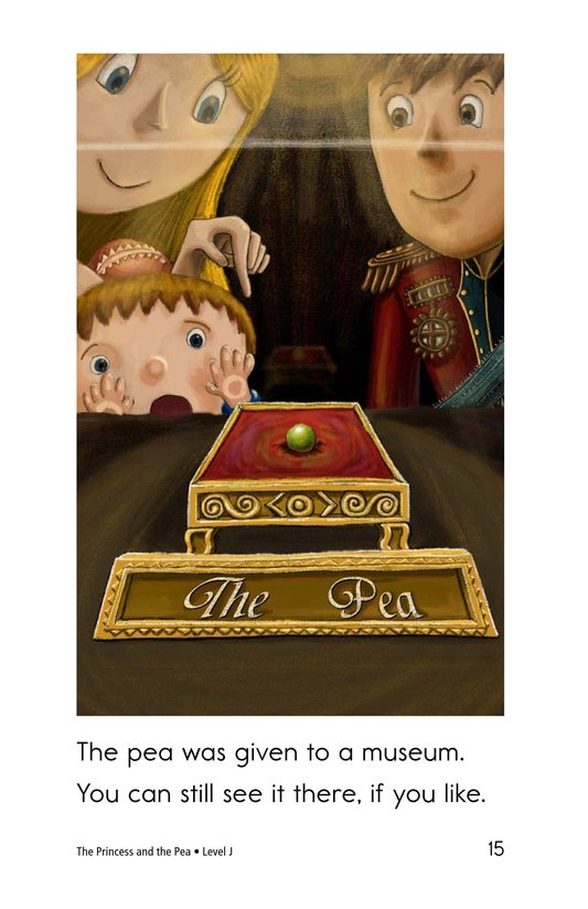 Book Preview For The Princess and the Pea Page 15