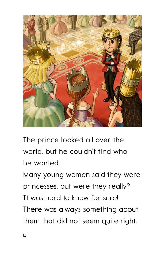 Book Preview For The Princess and the Pea Page 4