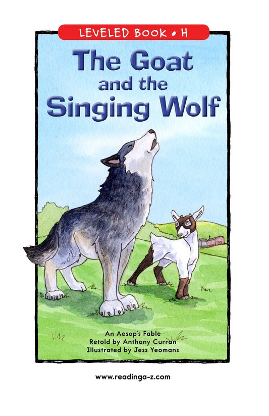 Book Preview For The Goat and the Singing Wolf Page 1