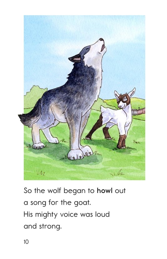 Book Preview For The Goat and the Singing Wolf Page 10