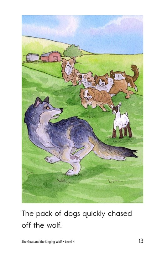 Book Preview For The Goat and the Singing Wolf Page 13