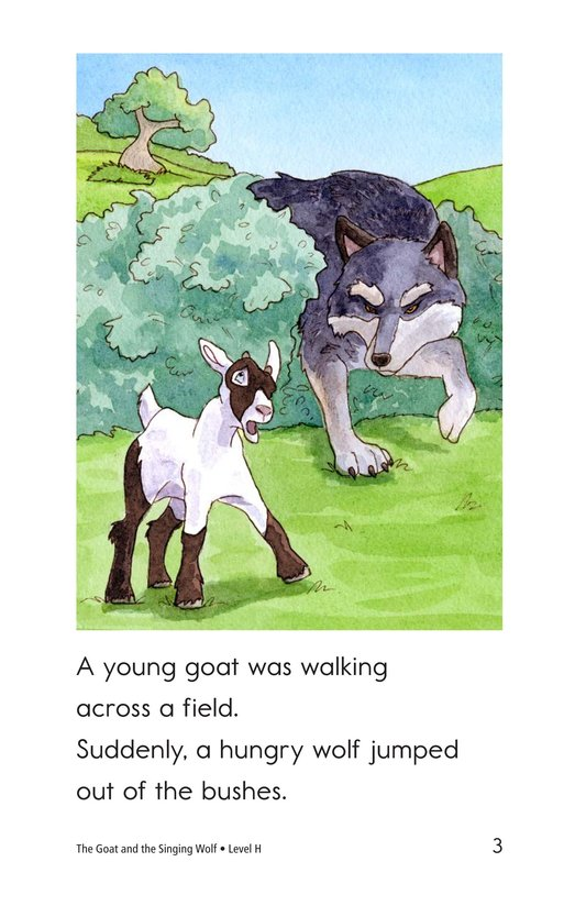 Book Preview For The Goat and the Singing Wolf Page 3