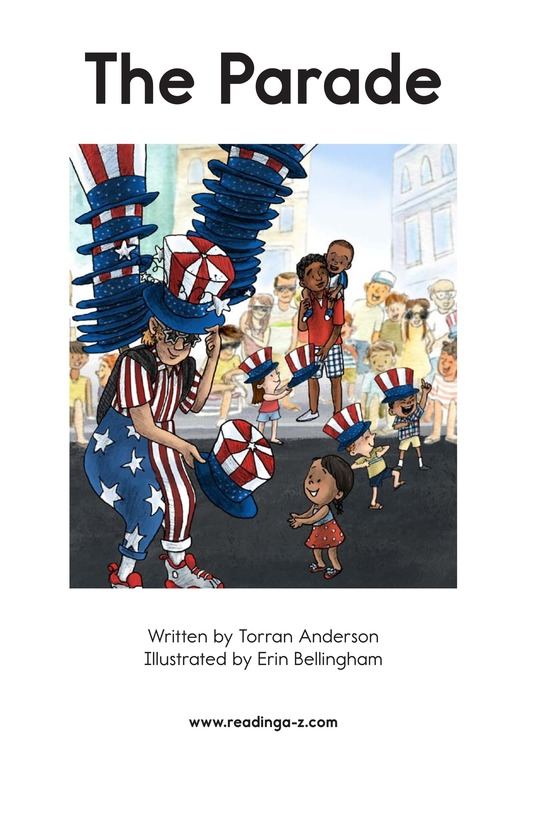 Book Preview For The Parade Page 2