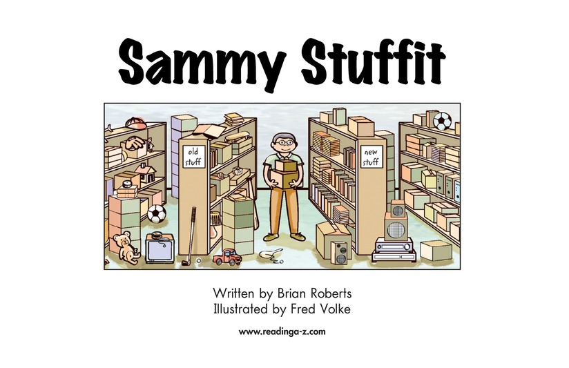 Book Preview For Sammy Stuffit Page 2
