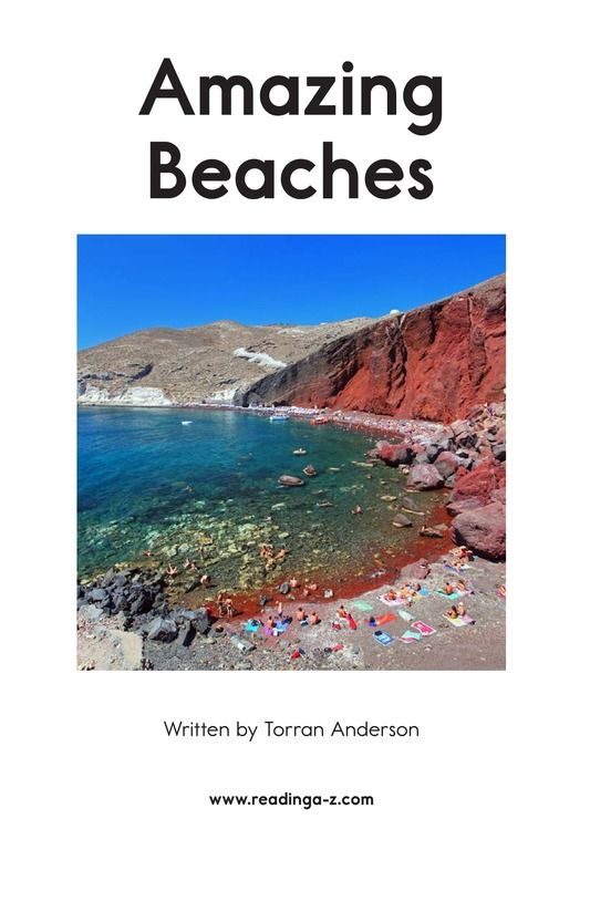 Book Preview For Amazing Beaches Page 2