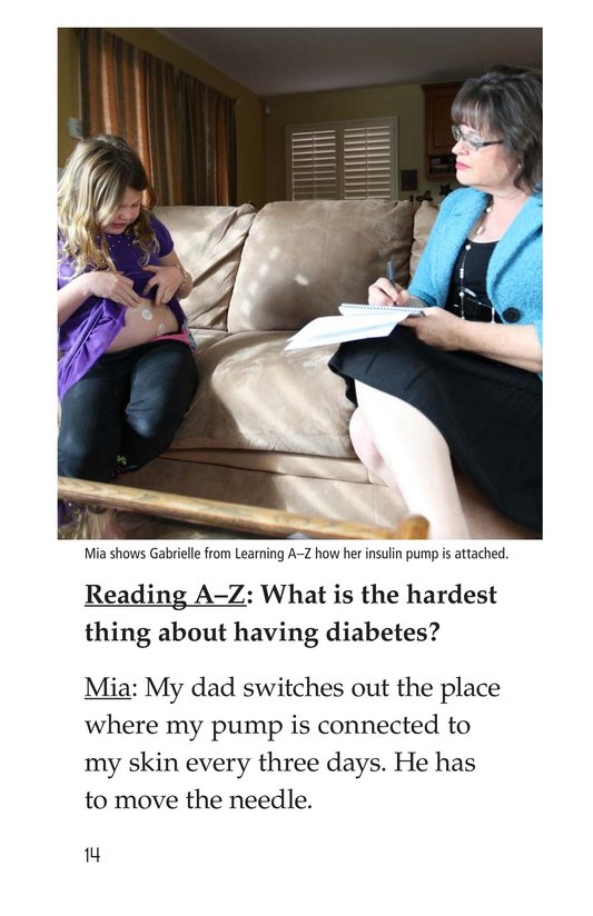 Book Preview For Diabetes and Me Page 14