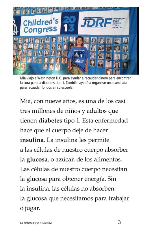 Book Preview For Diabetes and Me Page 3
