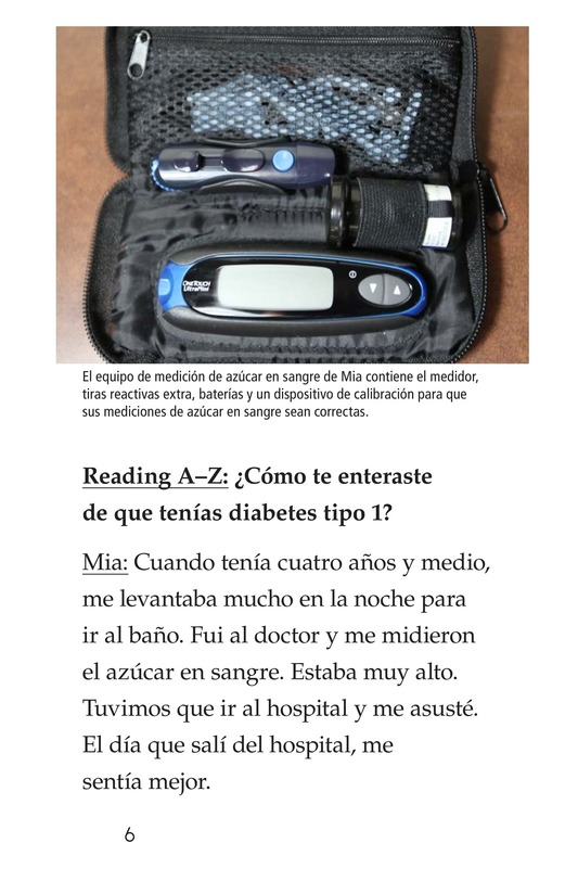 Book Preview For Diabetes and Me Page 6