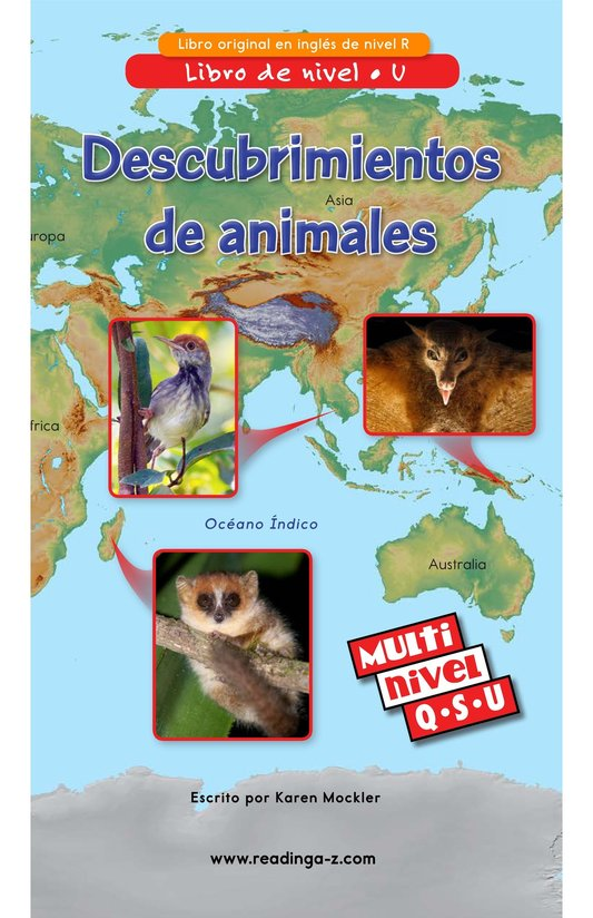 Book Preview For Animal Discoveries Page 1
