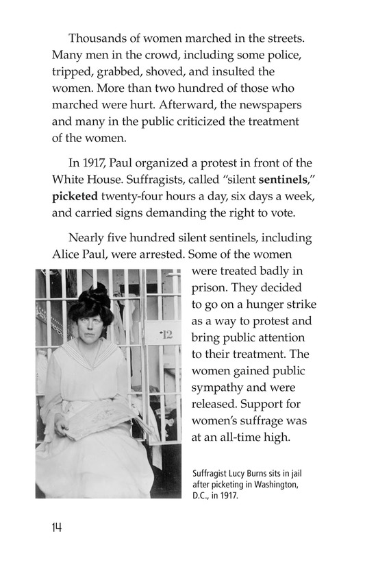 Book Preview For Women and the Vote Page 14