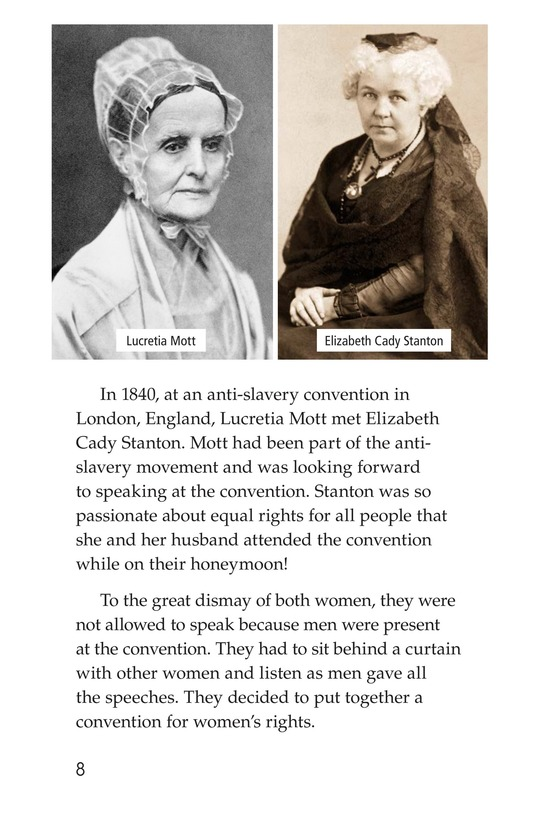 Book Preview For Women and the Vote Page 8