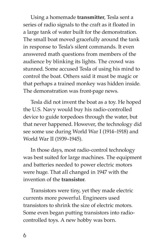 Book Preview For Fun by Remote Control Page 6