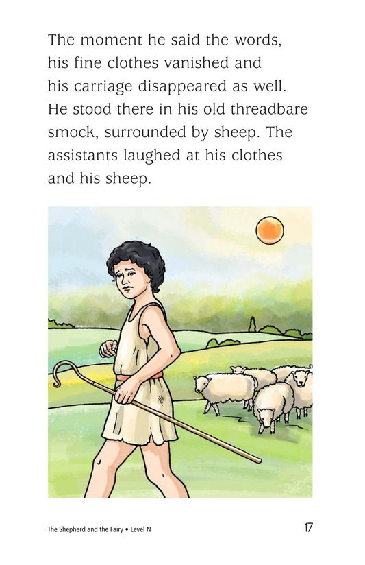 Book Preview For The Shepherd and the Fairy Page 17