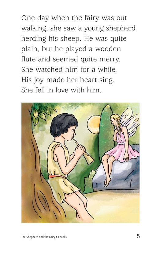 Book Preview For The Shepherd and the Fairy Page 5