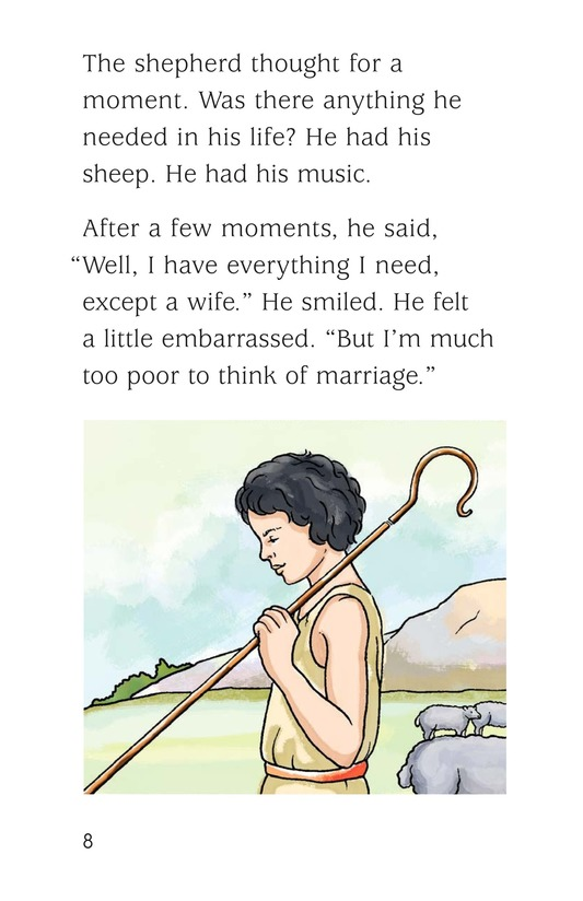 Book Preview For The Shepherd and the Fairy Page 8