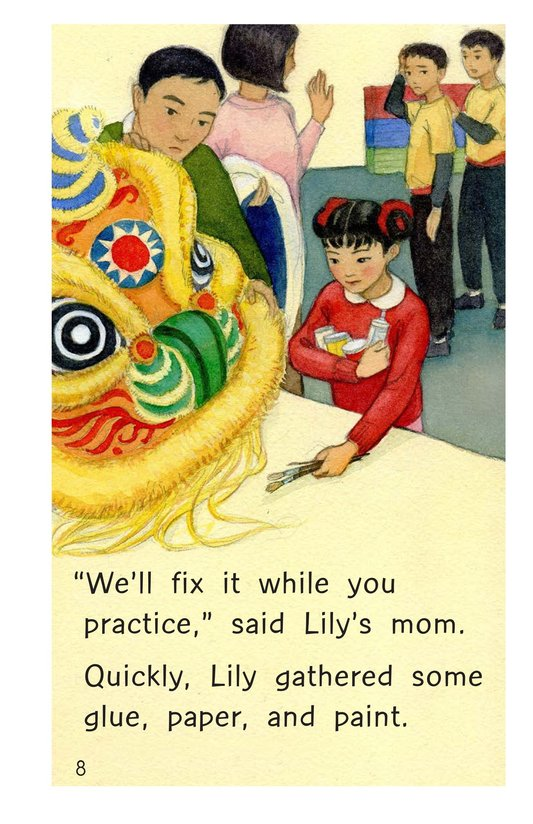Book Preview For A Lucky Chinese New Year Page 8