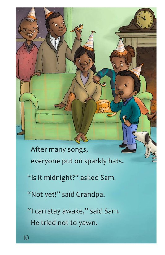 Book Preview For Sam's Big Night Page 10