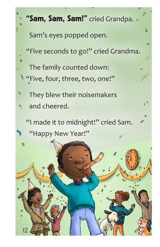 Book Preview For Sam's Big Night Page 12