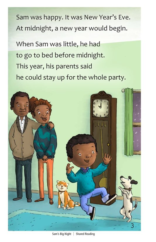 Book Preview For Sam's Big Night Page 3