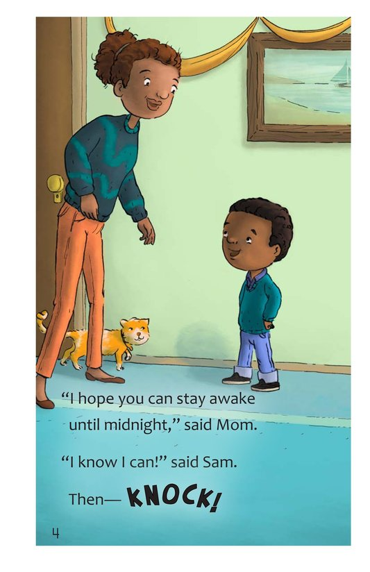 Book Preview For Sam's Big Night Page 4