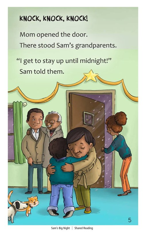 Book Preview For Sam's Big Night Page 5