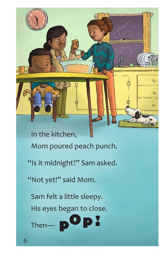 Book Preview For Sam's Big Night Page 6