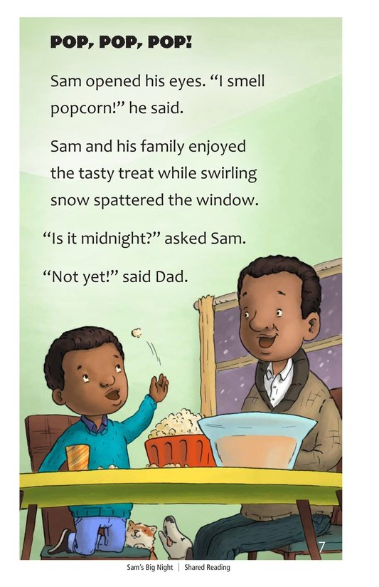 Book Preview For Sam's Big Night Page 7