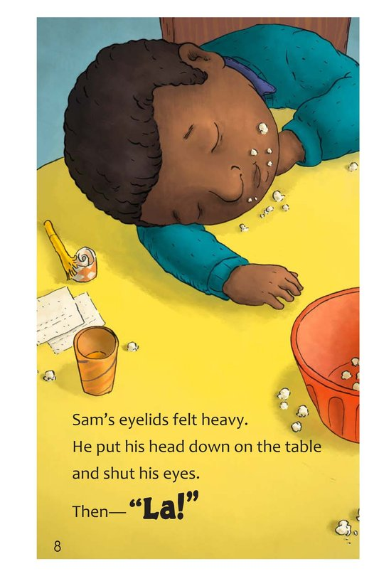 Book Preview For Sam's Big Night Page 8