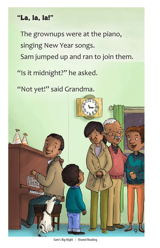 Book Preview For Sam's Big Night Page 9