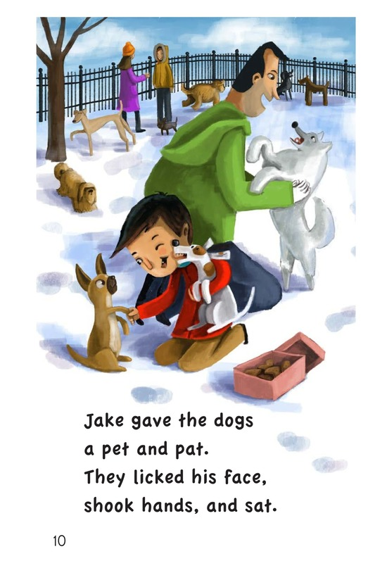 Book Preview For Jake's Valentine Treats Page 10