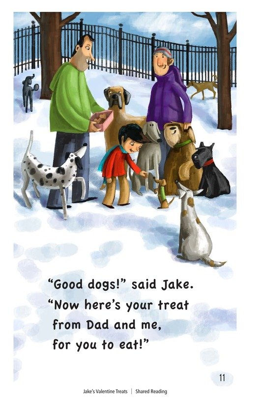 Book Preview For Jake's Valentine Treats Page 11