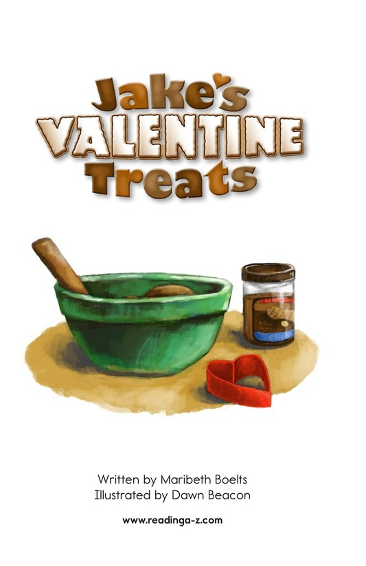 Book Preview For Jake's Valentine Treats Page 2