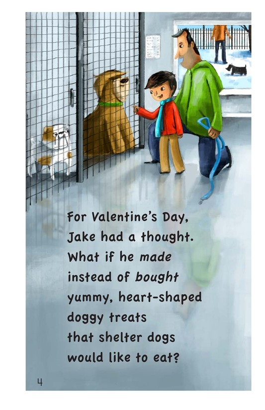 Book Preview For Jake's Valentine Treats Page 4
