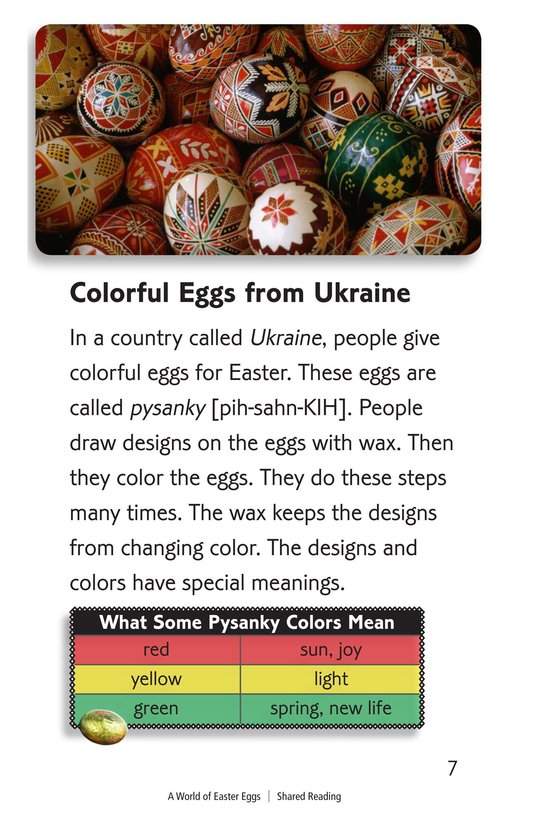 Book Preview For A World of Easter Eggs Page 7