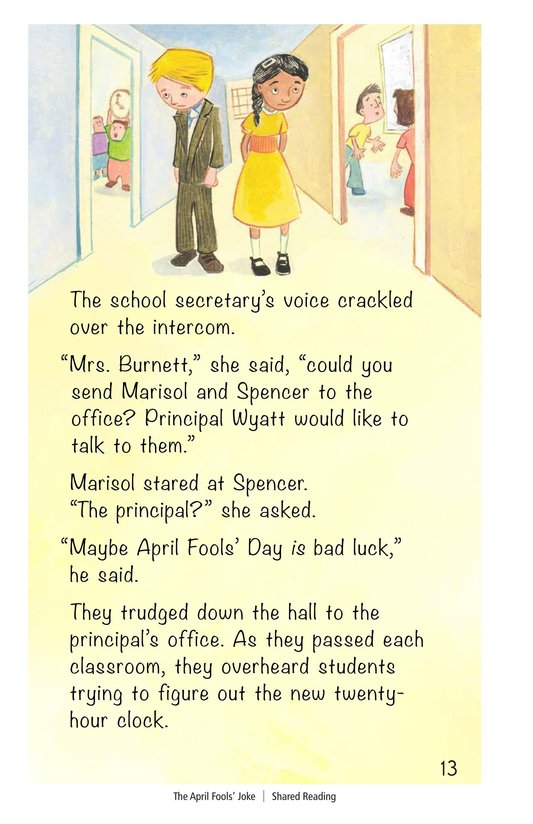Book Preview For The April Fools' Joke Page 13