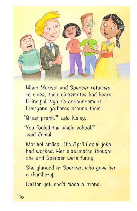 Book Preview For The April Fools' Joke Page 16