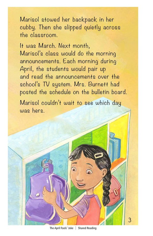 Book Preview For The April Fools' Joke Page 3