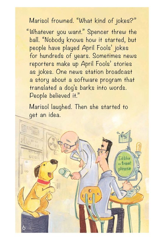 Book Preview For The April Fools' Joke Page 6