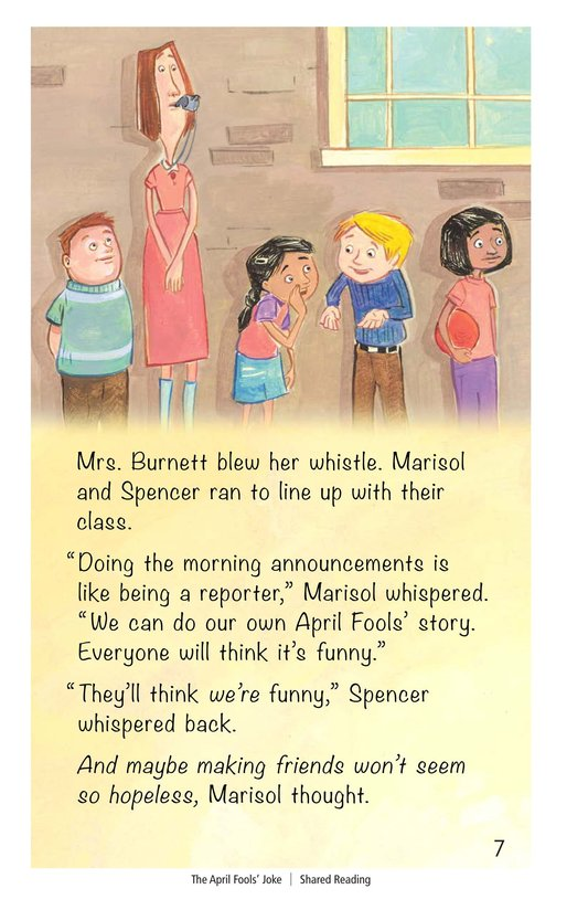 Book Preview For The April Fools' Joke Page 7