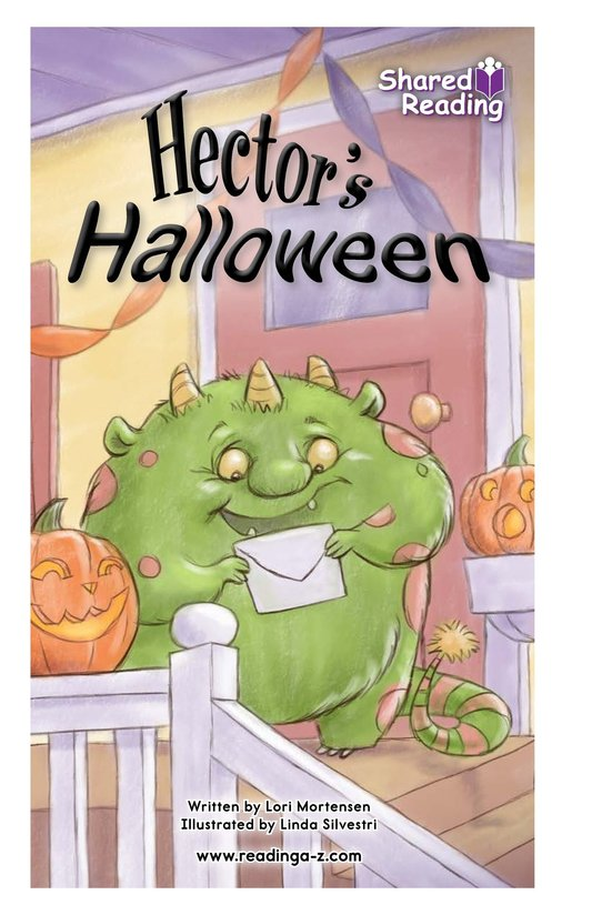 Book Preview For Hector's Halloween Page 1