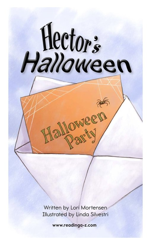 Book Preview For Hector's Halloween Page 2