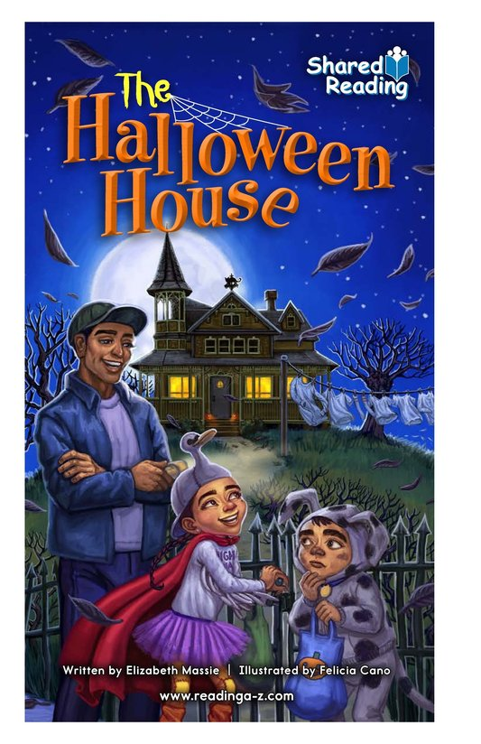 Book Preview For The Halloween House Page 1