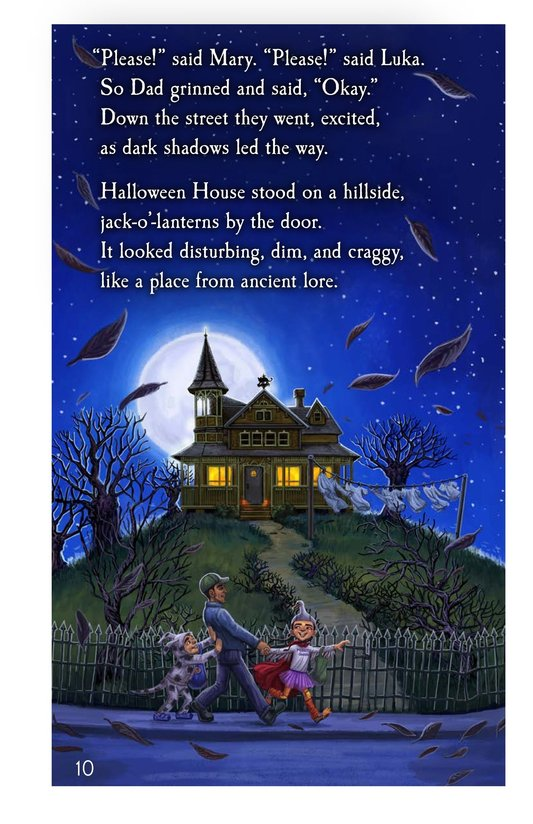 Book Preview For The Halloween House Page 10