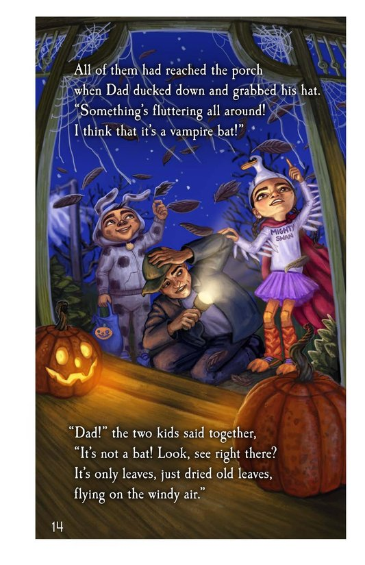 Book Preview For The Halloween House Page 14