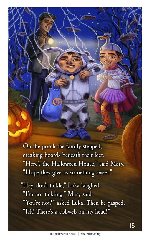 Book Preview For The Halloween House Page 15